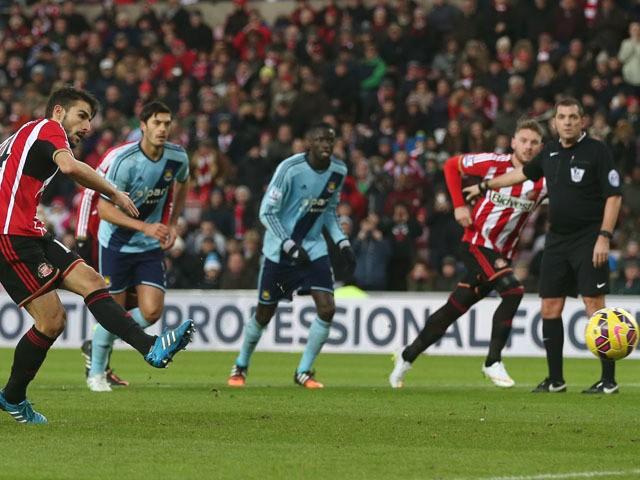 Sunderland 1 - 1 West Ham United