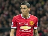 Angel di Maria in action for Manchester United on