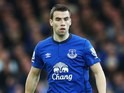 Seamus Coleman in action for Everton on November 22, 2014