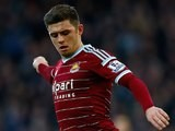Aaron Cresswell in action for West Ham on December 28, 2014