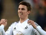 Tom Carroll in action for Swansea on December 20, 2014