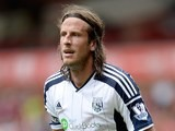 Jonas Olsson in action for West Brom on August 2, 2014