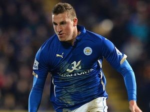 Chris Wood in action for Leicester on December 28, 2014