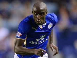 Zoumana Bakayogo in action for Leicester on September 24, 2013