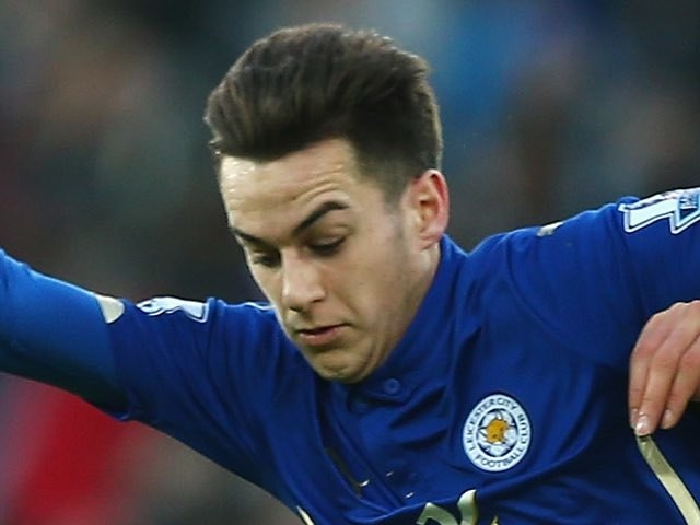 Tom Lawrence in action for Leicester on January 3, 2015