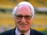 An undated portrait of the President of Wolverhampton Wanderers Sir Jack Hayward