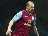 Alan Hutton in action for Aston Villa on January 4, 2015