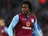 Carlos Sanchez in action for Aston Villa on January 10, 2015