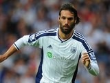 Georgios Samaras in action for West Brom on September 28, 2014