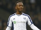 Saido Berahino in action for West Brom on November 29, 2014