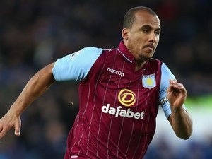 Gabriel Agbonlahor in action for Aston Villa on January 10, 2015