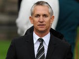 Former England footballer Gary Lineker leaves a Thanksgiving Service to remember the life of former England football manager Sir Bobby Robson on September 29, 2009