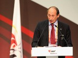 Valentin Balakhnichev speaks during the 49th IAAF Congress World Athletics Forum at the Crowne Plaza on August 8, 2013