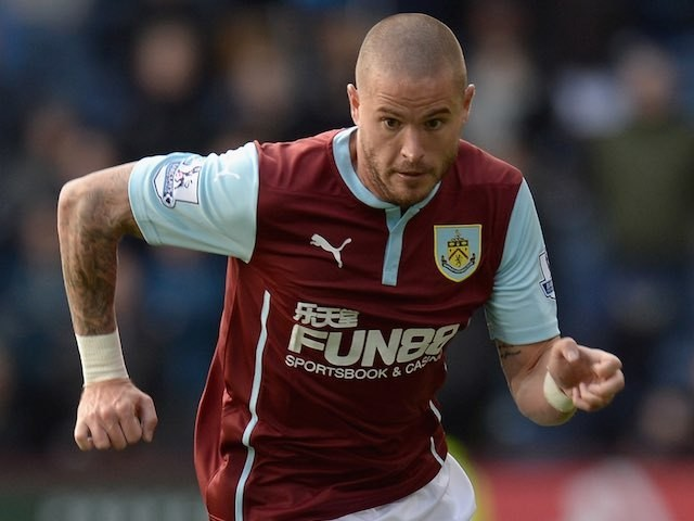 Michael Kightly for Burnley on October 26, 2014
