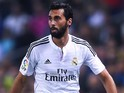 Alvaro Arbeloa for Real Madrid on October 29, 2014