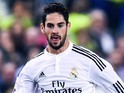 Isco for Real Madrid on October 29, 2014