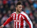 Marko Arnautovic for Stoke on January 26, 2015