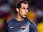 Claudio Bravo for Barcelona on August 18, 2014
