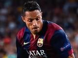 Adriano for Barcelona on September 17, 2014