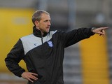 Paul Trollope during a Birmingham City training session at the Jan Breydelstadion on October 19, 2011
