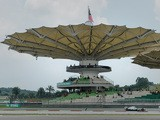 Mercedes driver Lewis Hamilton of Britain takes part in the third practice session of the Formula One Malaysian Grand Prix in Sepang on March 23, 201