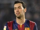 Sergio Busquets for Barcelona on January 4, 2015