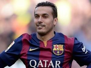 Pedro Rodriguez for Barcelona on December 20, 2014