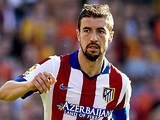 Gabi for Atletico Madrid on October 4, 2014