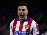 Jose Gimenez for Atletico Madrid on January 7, 2015