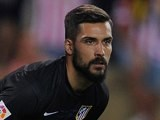 Miguel Angel Moya for Atletico Madrid on August 19, 2014
