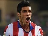 Raul Jimenez for Atletico Madrid on September 20, 2014