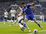 Tottenham Hotspur's English defender Eric Dier (L) vies with Chelsea's Brazilian-born Spanish striker Diego Costa during the Englis