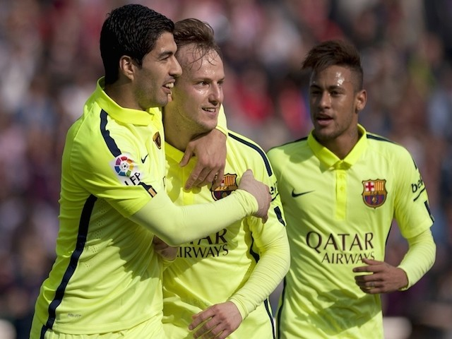 Granada 1 - 3 Barcelona