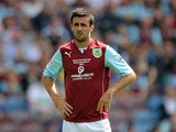 Danny Lafferty of Burnley looks on during the Sky Bet Championship match between Burnley and Bolton Wanderers at Turf Moor on August 03, 2013