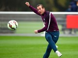 Harry Kane in training for England on March 26, 2015