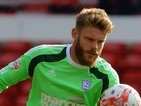 Dean Gerken for Ipswich Town on October 5, 2014