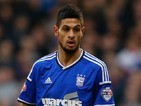 Kevin Bru for Ipswich Town on February 14, 2015