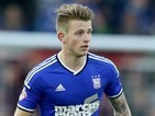 Luke Hyam in action for Ipswich Town on January 4, 2015