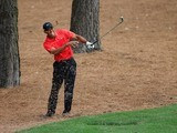 Tiger Woods during the final round of The Masters on April 12, 2015