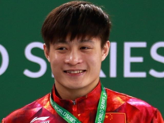 China's Yang Jian in March 2015