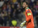 Rui Patricio of Sporting Clube de Portugal during the UEFA Group G Champions League football match between NK Maribor and Sporting Lisbon at the Ljudski vrt Stadium on September 17, 2014