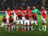 The Monaco team line up during the UEFA Champions League quarter-final second leg match between AS Monaco FC and Juventus at Stade Louis II on April 22, 2015