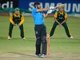 James Vince of the England Lions during the 5th ODI match between South Africa A and England Lions at Sahara Park Willowmoore on February 05, 2015