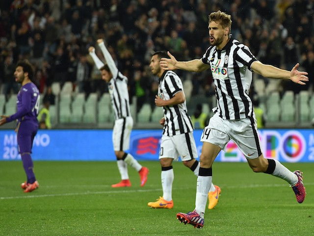 Fernando Llorente of Juventus FC celebrates his goal during the Serie    Fernando Llorente Juventus Goal