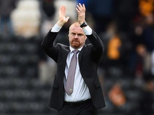 Burnley manager Sean Dyche on May 9, 2015
