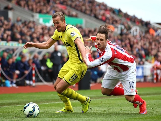 Harry Kane in action for Spurs on May 9, 2015