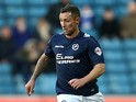 Scott McDonald of Millwall in action during the Sky Bet Championship match between Millwall and Middlesbrough at The Den on December 6, 2014