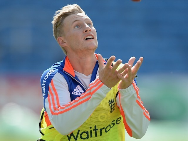 Joe Root during an England nets session on May 28, 2015