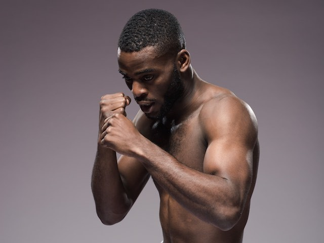 Team GB's Joshua Buatsi on May 29, 2015