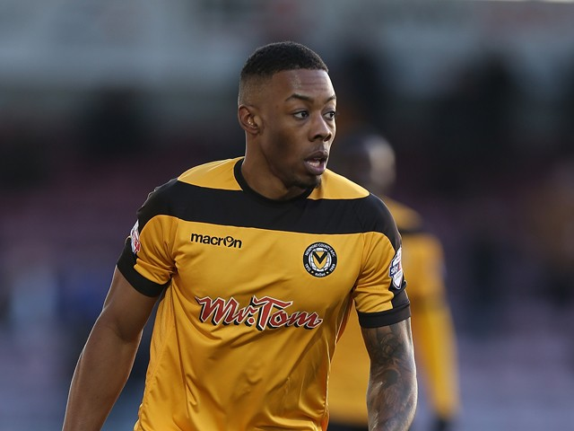 Ryan Jackson of Newport County in action during the Sky Bet League Two match between Northampton Town and Newport County at Sixfields Stadium on January 24, 2015
